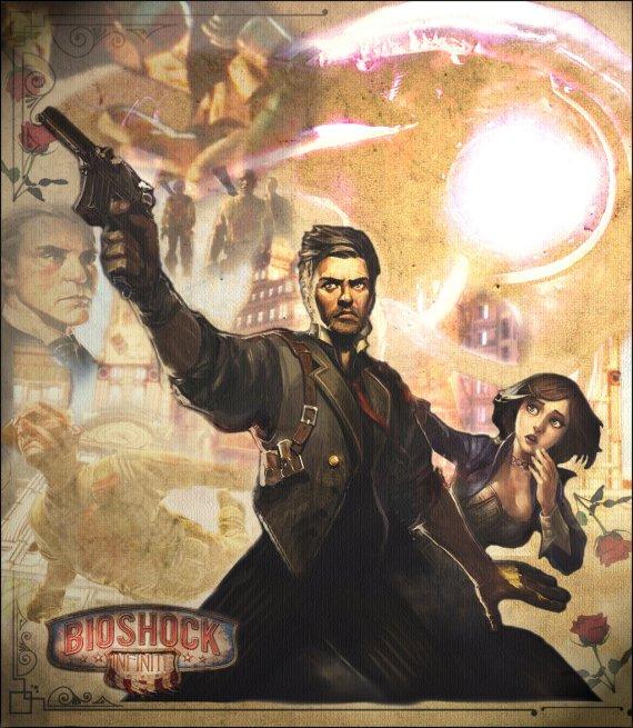 """""""Bioshock Infinite Fan Poster"""" by Brooke S"""