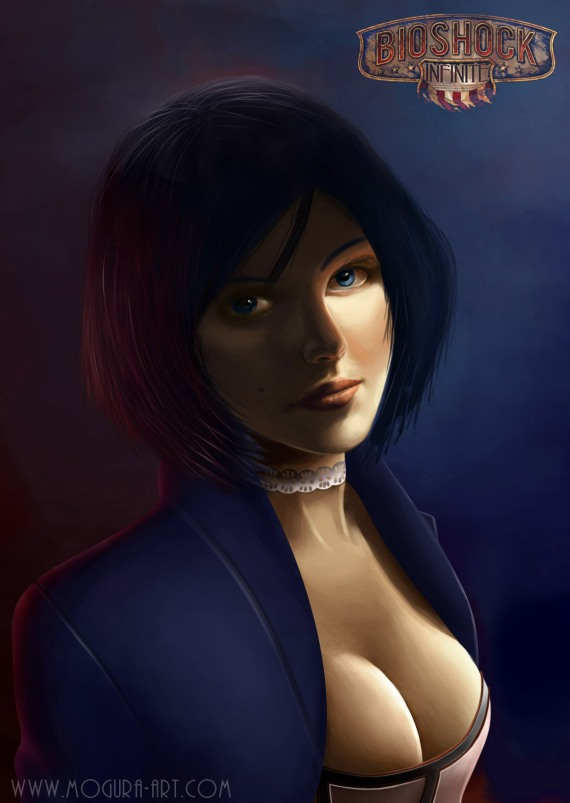 Elizabeth Bioshock Infinite by Mogura