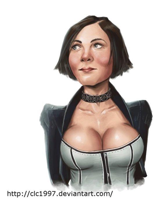 """Elizabeth from BioShock"" by Clc1997"