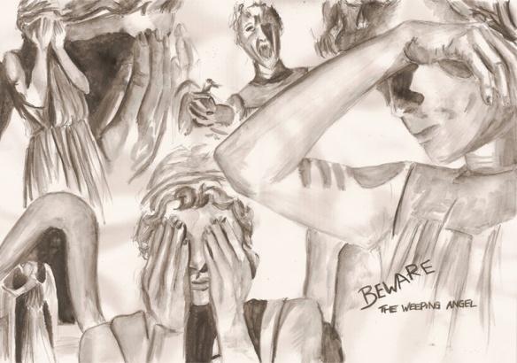 Beware the Weeping Angel by Bufstk