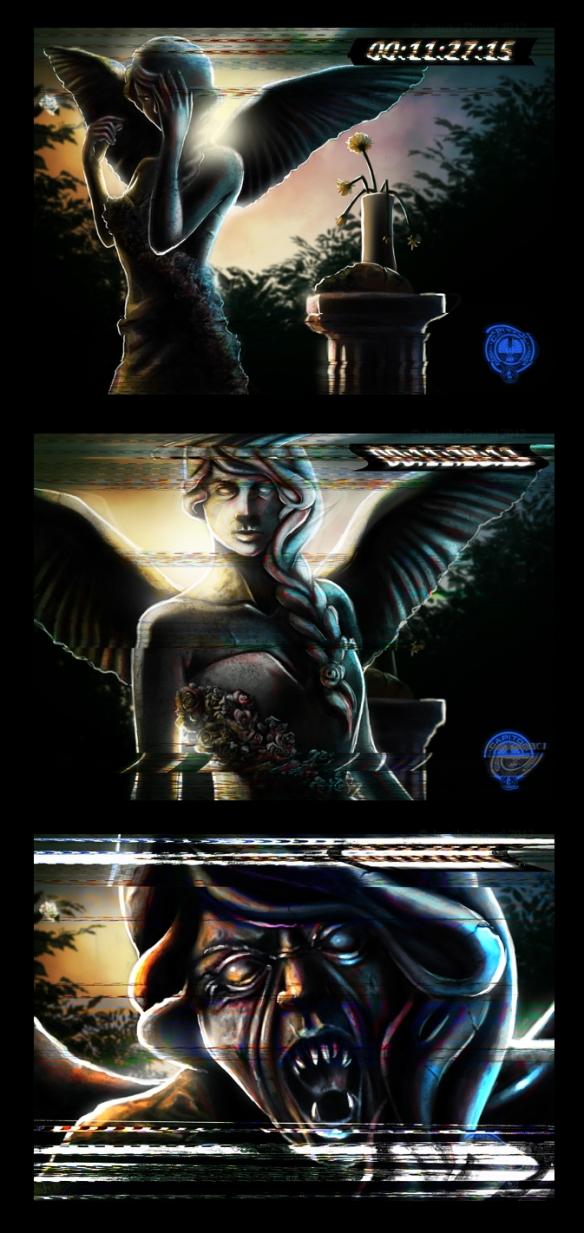 The Angels Take Panem by Maria Sunderland