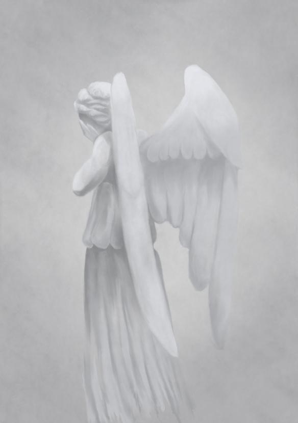 Weeping Angel by Ségolène Le Guen