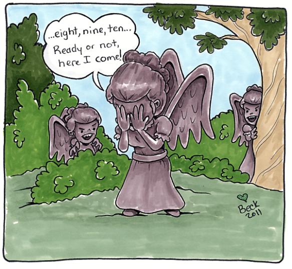 Weeping Angel Games by Beck Seashols