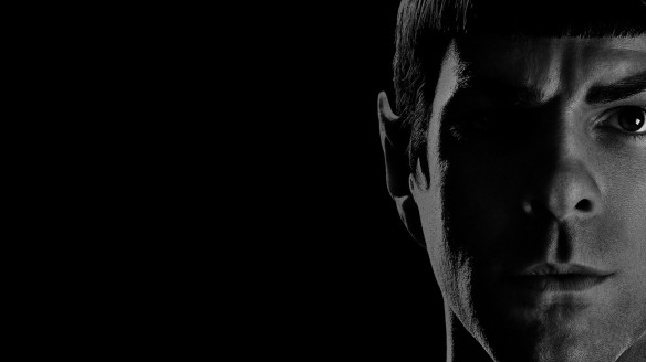 Zachary Quinto as Spock. (image from BackgroundWallpapers.com)