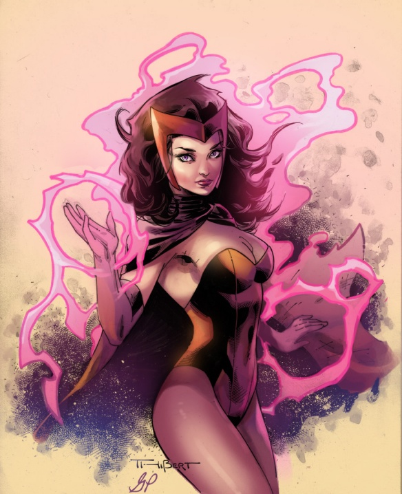Scarlet Witch Commission by Aethibert and Giuliapriori