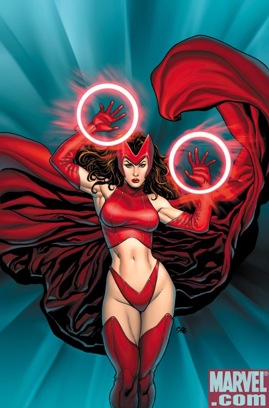 Scarlet Witch Variant cover for Ultimates 3 #3 by Fran Cho. Jan 30, 2008