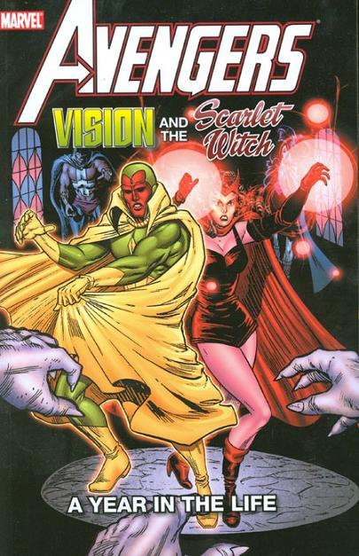 Vision and Scarlet by Bill Mantlo and Rick Leonard 1982
