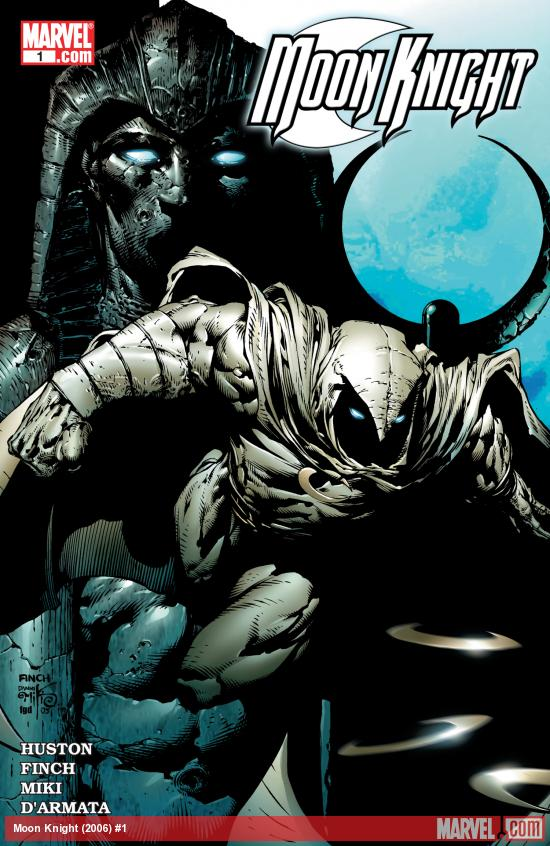 Moon Knight (2206) #1 Cover art by David Finch