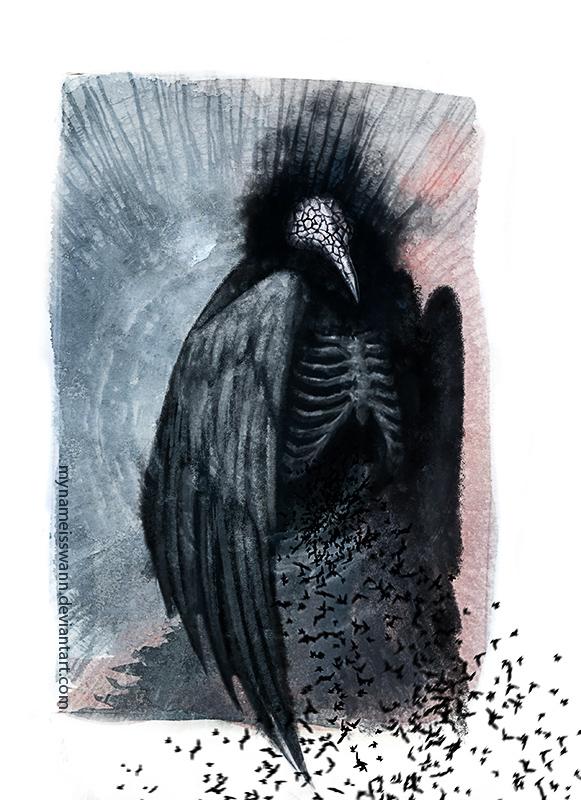 """Crow"" by MyNameIsSwann"