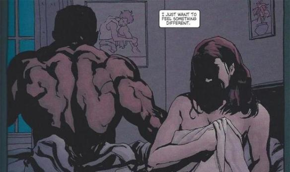 From Alias #1, by Brian Michael Bendis and Michael Gaydos
