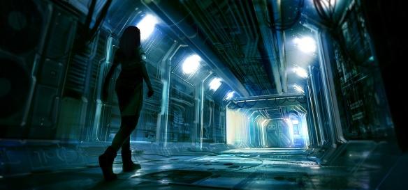 Fallen Suns Cold Corridor by Macrebisz