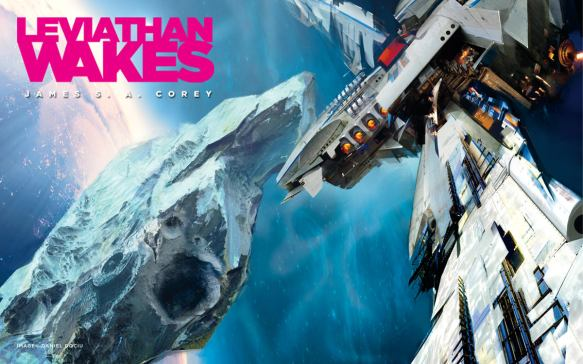 Leviathan Wakes poster and cover art.