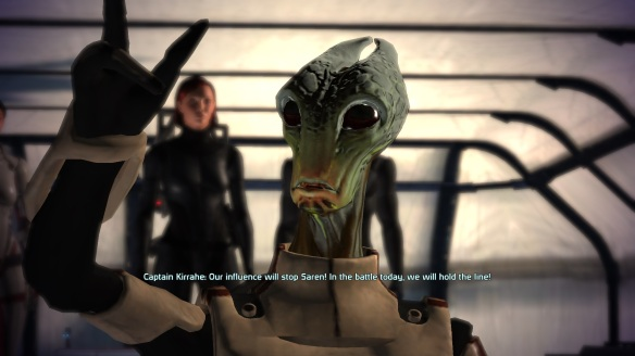 Captain Kirrahe, Virmire, Mass Effect