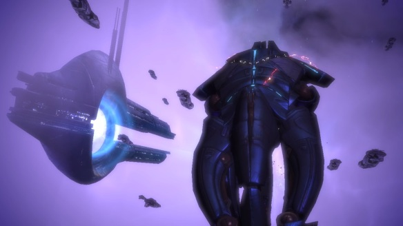 Sovereign Citadel attack, Mass Effect