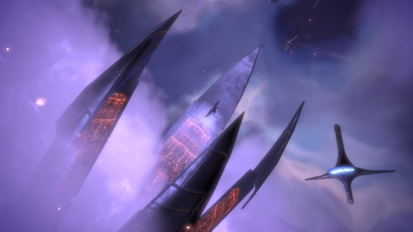 Citadel closing, Mass Effect