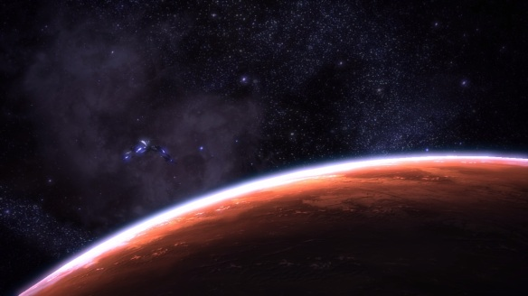 Mass Effect, End scene