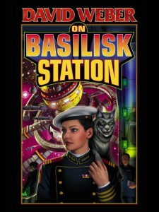 On Basilisk Station cover art by David Mattingly
