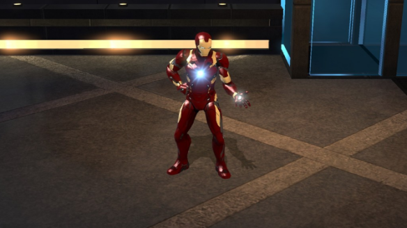 Iron Man's Mark 46 Costume. Snapshot by Gloc9