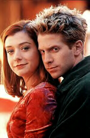 Oz and Willow. Buffy the Vampire Slayer. 1997-2000