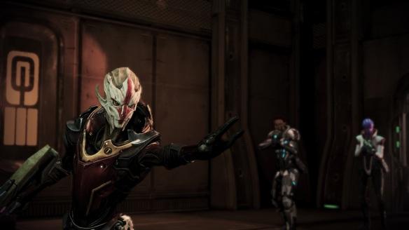 Nyreen, Mass Effect 3, Omega DLC