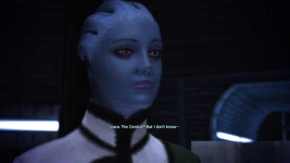 Liara T'Soni, Mass Effect