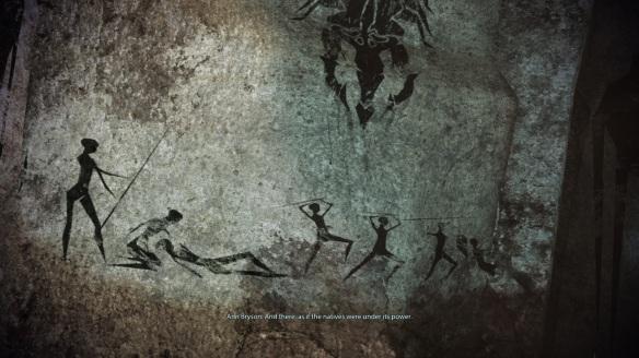 Leviathan cave paintings, ME3 Leviathan DLC