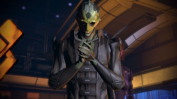 Thane Krios, Citadel Mass Effect 2