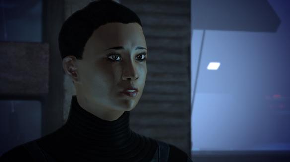 Maeko Matsuo, Port Hanshan, Mass Effect