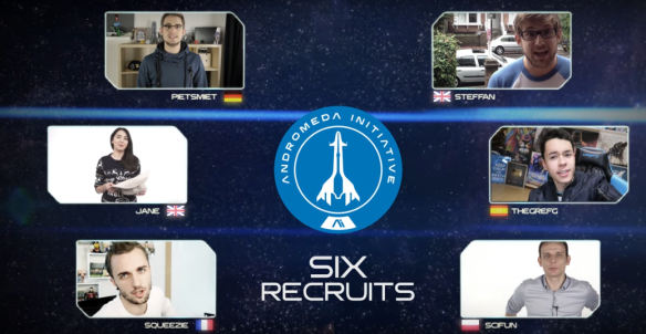 Andromeda Initiative's Six recruits