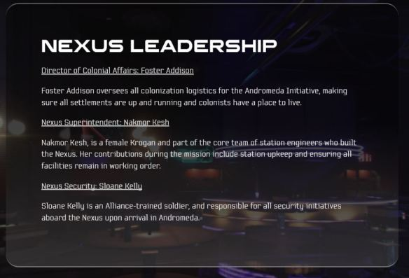 Leaders Pop-up at 02.11 in Arks & Nexus training video