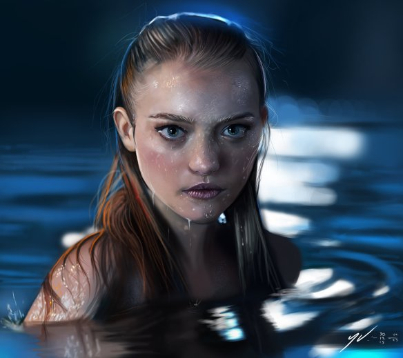 Gemma Ward by Yaşar Vurdem (click to see original)