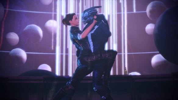 Garrus and Shepard, ME3 Citadel DLC