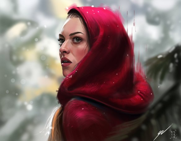 Red Ridinghood by Yaşar Vurdem (click image to see original)