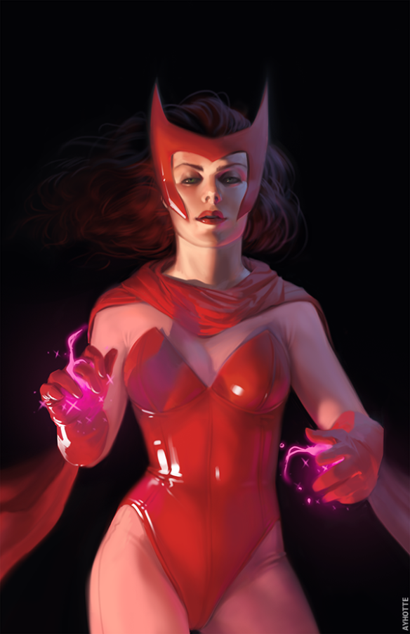Scarlet Witch by Ayhotte (click to visit original)